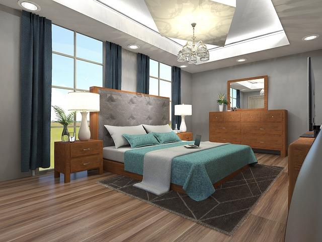 Nová spálňa podľa domových dizajnérov