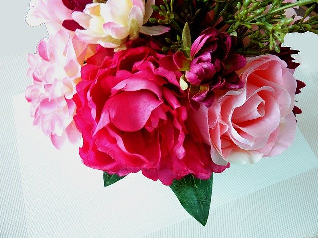 umělé kytky
